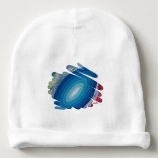 Blue Chakra Spirals Art Baby Beanie