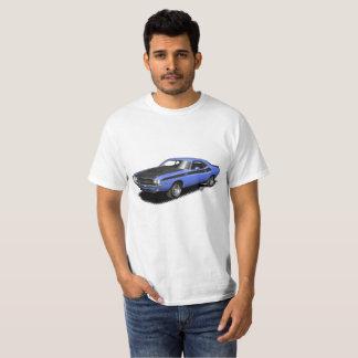 Blue Challenger classic car t-shirt