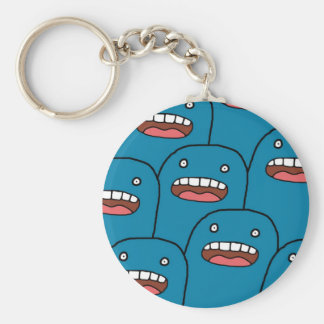 Blue Characters Key Chains