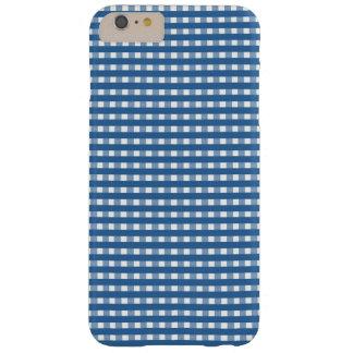 "Blue ""Check"" Phone Case"