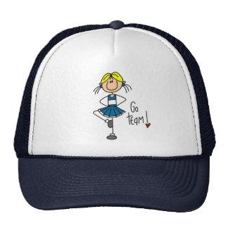 Blue Cheerleader Trucker Hat