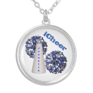 Blue Cheerleader's Custom Necklace