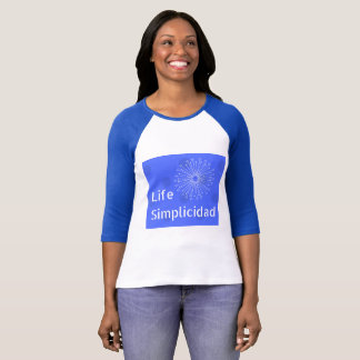 Blue Cheese Background with Classic Logo T-Shirt