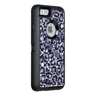 Blue Cheetah Bling OtterBox Defender iPhone Case