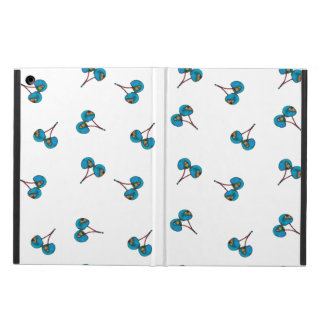 Blue Cherry Pattern Cover For iPad Air