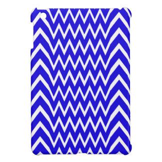 Blue Chevron Illusion Case For The iPad Mini