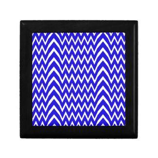 Blue Chevron Illusion Gift Box