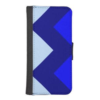 Blue Chevron - iPhone 5/5s Wallet Case iPhone 5 Wallet