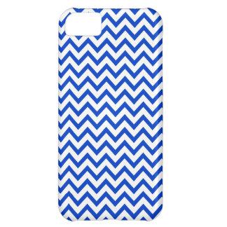 Blue Chevron Pattern iPhone 5 Case
