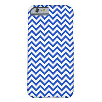 Blue Chevron Pattern iPhone 6 case Barely There iPhone 6 Case