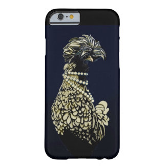 Blue chicken with pearls barely there iPhone 6 case