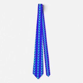 Blue Chihuahua Tie for Men