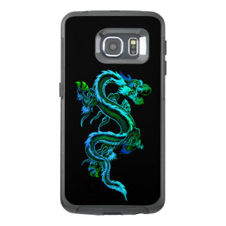 Blue Chinese Dragon Otterbox Samsung S6 Edge Case
