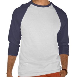Blue Chinese Junk Style Sailing Ship Baseball T-sh Tshirts