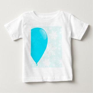 Blue Christmas Balloon Baby T-Shirt