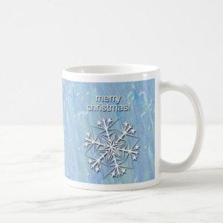 Blue Christmas Mug