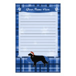 Blue Christmas Toller Stationery