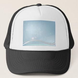 Blue Christmas Trucker Hat