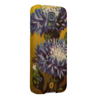 Blue Chrysanthemum Galaxy S5 Covers