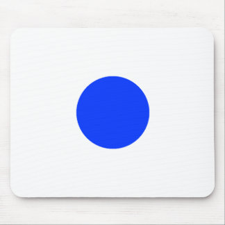 Blue Circle Square CircleTrans-3 The MUSEUM Zazzle Mouse Pad