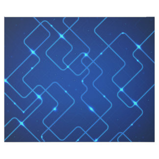 Blue circuit board wrapping paper