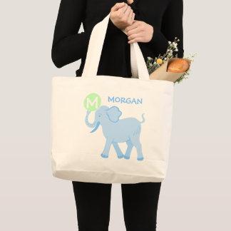 Blue Circus | Baby Boy Cute Elephant Diaper Bag