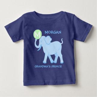 Blue Circus   Baby Boy Letter Grandmas Prince Baby T-Shirt