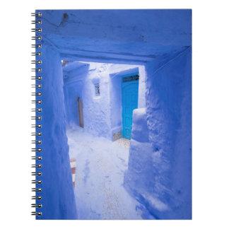 Blue City Alleyway Notebook
