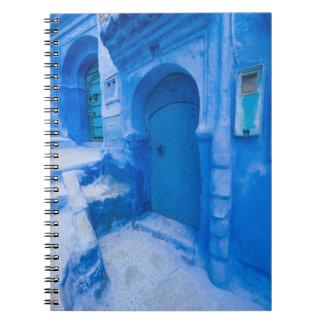Blue City Door Notebook