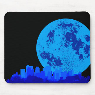 Blue City Mouse Pad