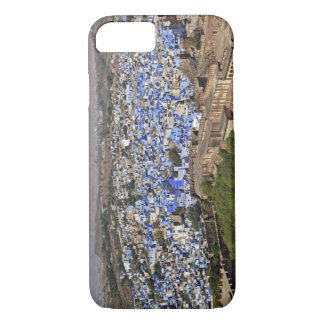 Blue City viewed from Mehrangarh Fort / Jodhpur, iPhone 7 Case
