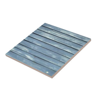 Blue Clapboard Ceramic Tiles
