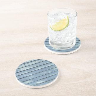 Blue Clapboard Drink Coasters