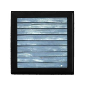 Blue Clapboard Gift Box