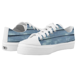 Blue Clapboard Low-Top Sneakers