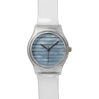 Blue Clapboard Watch