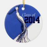 Blue Class of 2014 Ornament