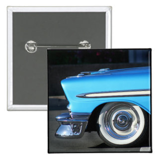 Blue Classic Car Pins