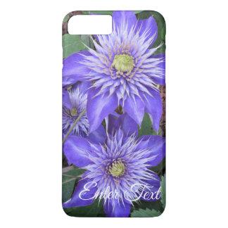 Blue Clematis Flowers iPhone 8 Plus/7 Plus Case