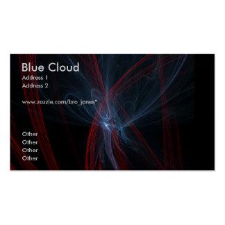 Blue Cloud Business Card Templates