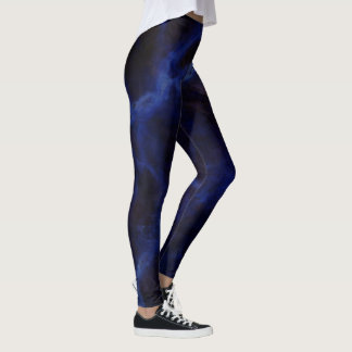 Blue cloud walkers leggings