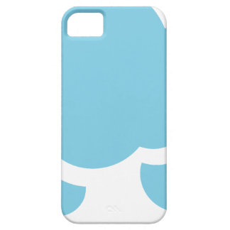 Blue Clouds Case For The iPhone 5
