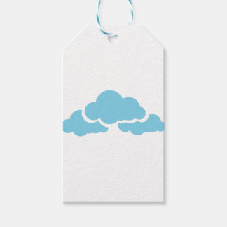 Blue Clouds Gift Tags
