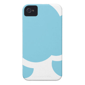 Blue Clouds iPhone 4 Cover