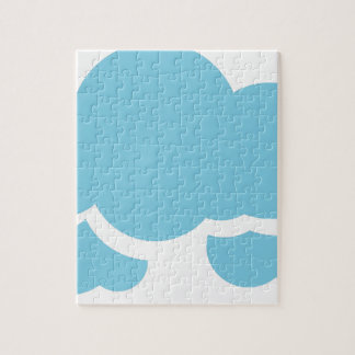 Blue Clouds Jigsaw Puzzle