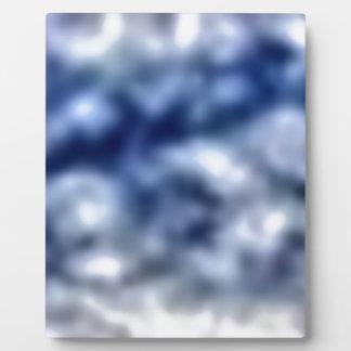 Blue Clouds Plaque