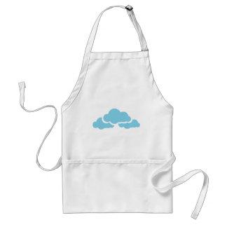 Blue Clouds Standard Apron