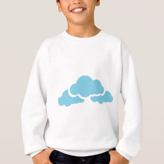 Blue Clouds Sweatshirt