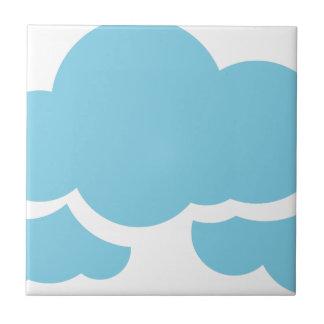 Blue Clouds Tile