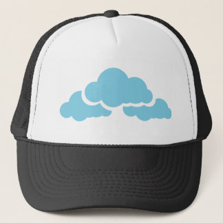 Blue Clouds Trucker Hat